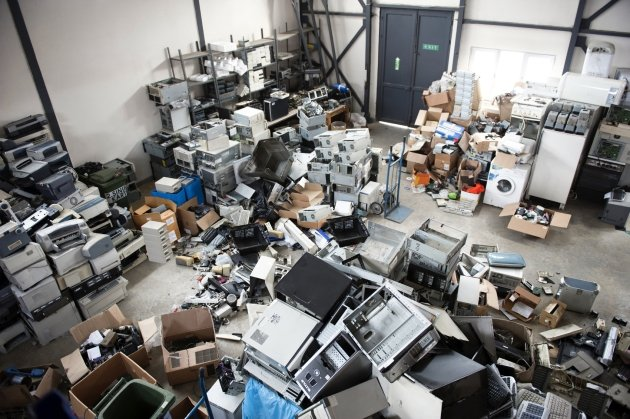 electronic recycling facility